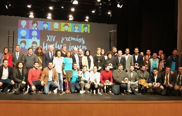 El IAJ reconoce la valía de jóvenes onubenses en diferentes facetas con los premios 'Huelva Joven'