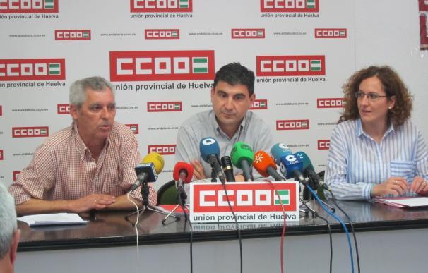 """CCOO lamenta """"la pérdida de 26.100 puestos de trabajo"""" en la provincia desde 2008"""
