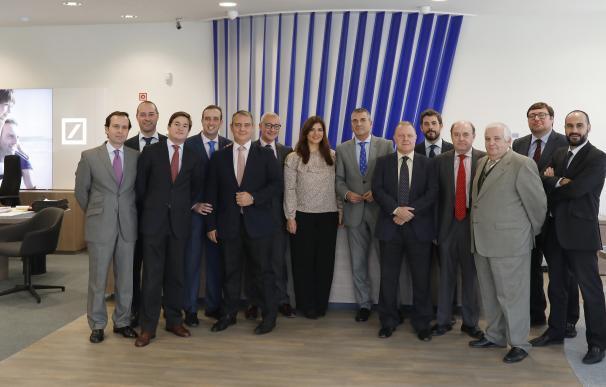 Deutsche Bank inaugura una nueva oficina en Sevilla, donde tiene 25.370 clientes y un negocio de 975 millones