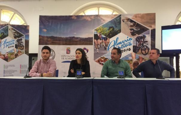 La Ultra Maratón 'Costa de Almería' pondrá el broche de oro a la programación de 'Almería Activa' 2016