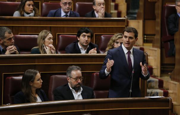 Ciudadanos lleva hoy al Congreso su plan de choque para los autónomos pactado con el PP