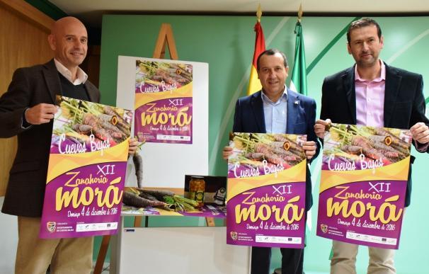 Cuevas Bajas celebra la Fiesta de la Zanahoria Morá y cuadruplica la producción de este producto