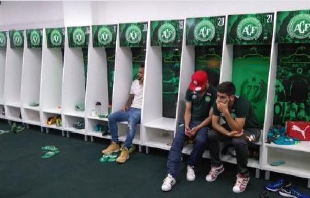 Hinchas llorando, jugadores rezando... Las reacciones en el estadio del Chapecoense