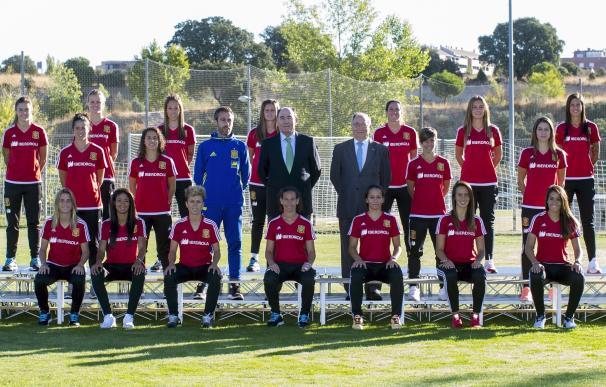 La selección española femenina disputará por vez primera la Copa Algarve