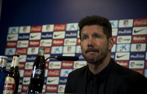 """Simeone: """"Es una competición muy querida por el club"""""""