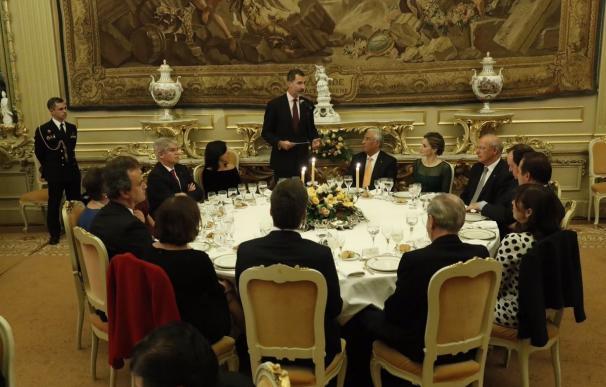 El Rey llama a España y Portugal a aprovechar su capacidad conjunta de influir en la UE para ganar peso y prestigio