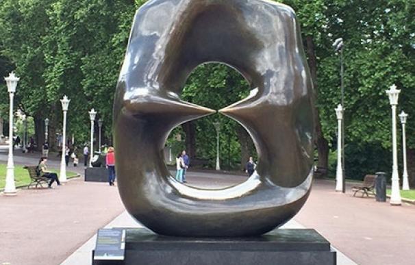 Logroño acoge desde mañana una muestra de las esculturas monumentales de Henry Moore