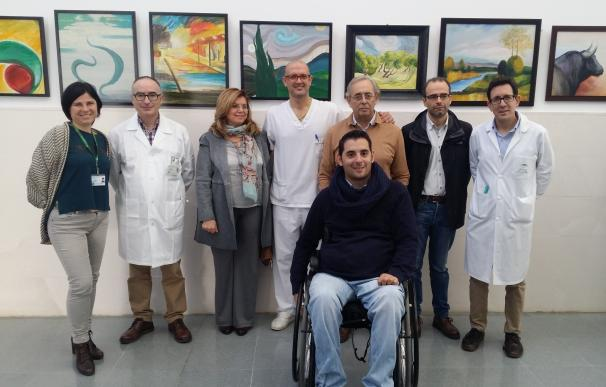 El Hospital de Montilla acoge la muestra 'El Arte sin Barreras', por el Día de las Personas con Discapacidad