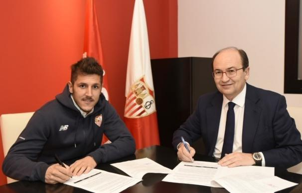 Jovetic refuerza la delantera del Sevilla FC