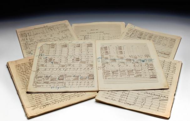 Una partitura de Mahler rompe récords en una subasta al superar los 5 millones de euros