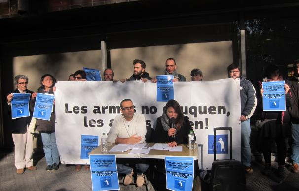 Desmilitaritzem l'Educació pide por carta que el Ejército salga de los salones de enseñanza