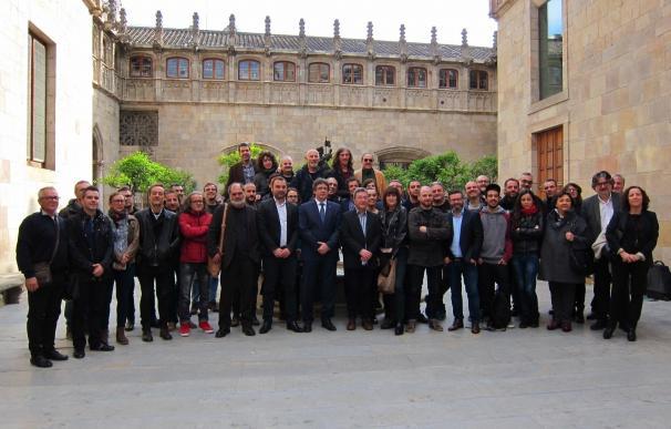 """Puigdemont: """"Hemos podido crecer un poco más en cultura pero aún estamos lejos"""""""