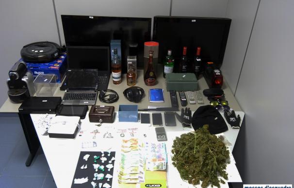 Detenido un vecino de Oliana (Lleida) por tráfico de drogas y tres robos