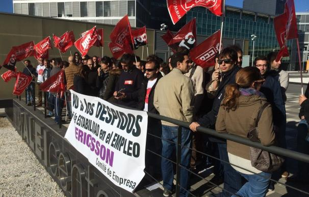 La plantilla de Ericsson respalda el acuerdo que reduce el ERE a 282 despidos