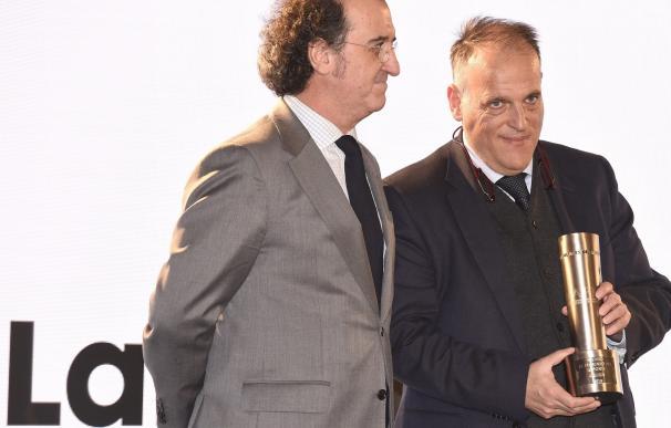 """Tebas, sobre la polémica del Betis-Barça: """"Este año ha habido tres casos más y nadie ha dicho nada"""""""