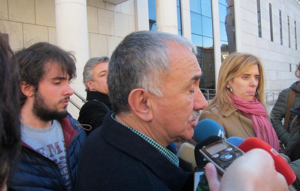 """Pepe Álvarez (UGT) cree que Cantabria tiene que """"avanzar hacia la calidad"""""""
