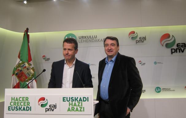 """El PNV dice que de momento no hay """"ningún avance"""" sobre los Presupuestos de este año con el PP"""