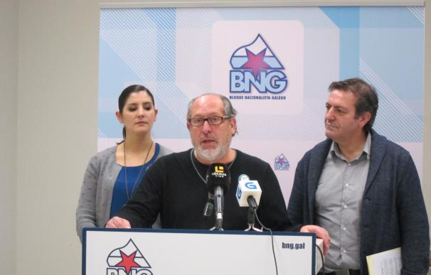 """El BNG llevará a la Cámara la petición de retirada del recurso contra el Área Metropolitana y de """"recuperar el consenso"""""""