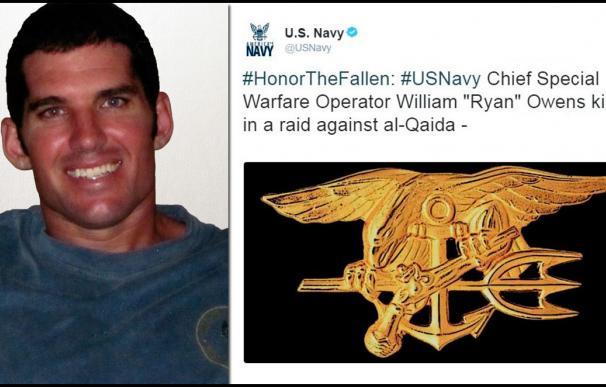 La Marina de EEUU rinde homenaje a William 'Ryan' Owens, caído en combate