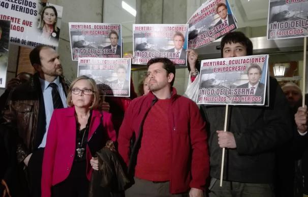 Ahora Madrid, PSOE y Cs instan al Congreso a crear Comisión de investigación sobre accidente de Alvia y PP se abstiene