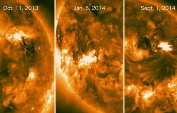 La NASA observa rayos gamma procedentes del lado oculto del Sol