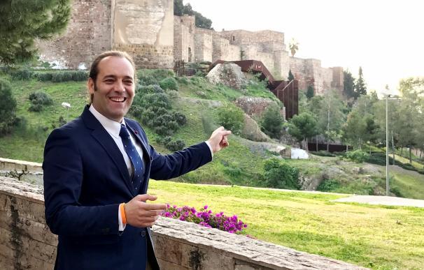 Ciudadanos valora el impulso del mirador de la Alcazaba y de los primeros proyectos del Plan Gibralfaro