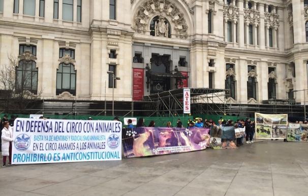 Empresarios circenses se querellarán contra el Ayuntamiento de Madrid por prevaricación