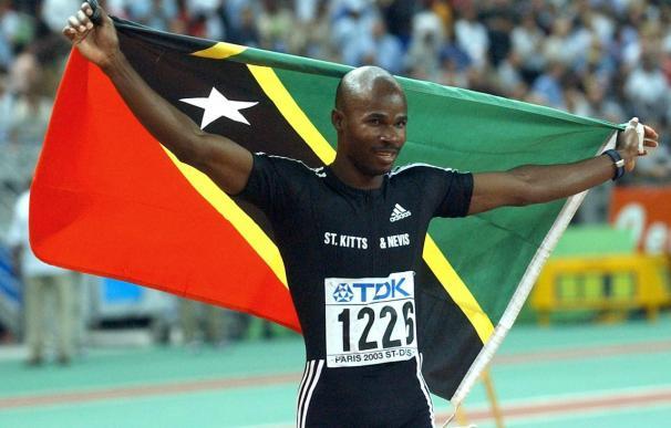 Kim Collins, el adiós del primer caribeño oro en los 100 metros