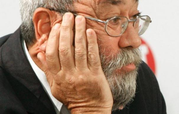 Cándido Méndez afirma que el paro crecerá en 2010 a pesar de la recuperación