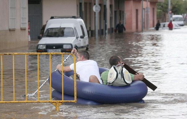 Comunidad Valenciana, Murcia, Baleares y Tarragona están en alerta por lluvias
