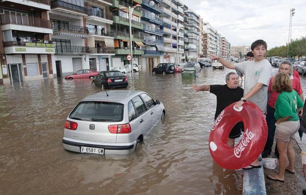 Cuatro carreteras comarcales permanecen cortadas al tráfico por las lluvias