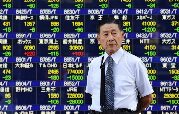 El índice Nikkei gana 37,84 puntos, 0,37 por ciento, hasta 10.138,04 puntos
