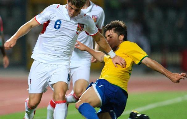 0-0. Brasil se desinfla y empata ante los checos en un partido muy disputado