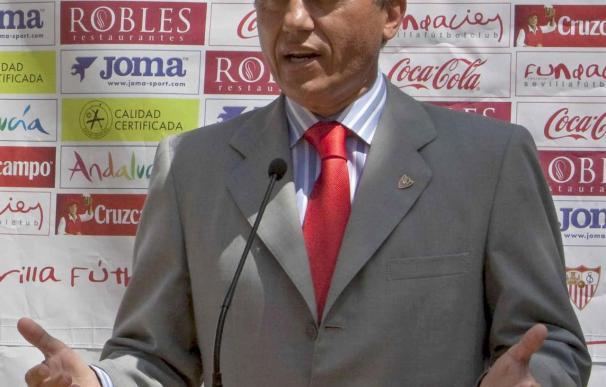 """Del Nido dice que el partido ante el Madrid """"servirá para medir el nivel"""""""