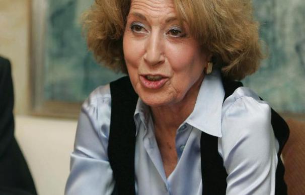 """La historiadora Carmen Iglesias considera que los políticos """"manipulan ahora más que nunca"""""""