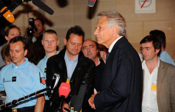Villepin, dispuesto a contribuir a aclarar la verdad del caso Clearstream