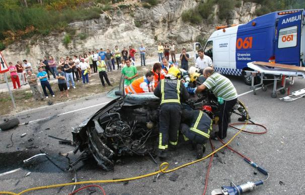 Fallece un joven en un accidente de tráfico en Salvaterra