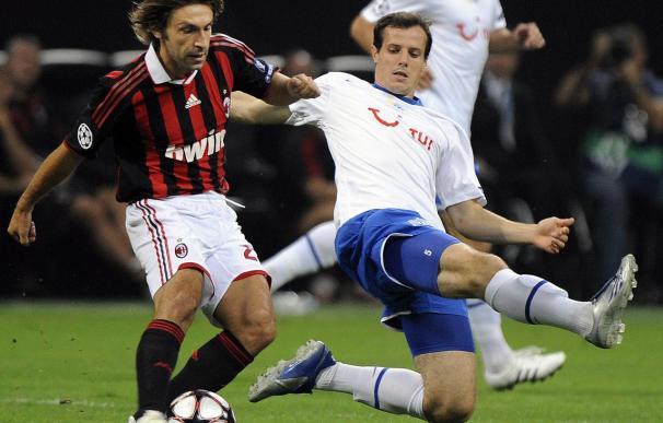 0-1. El Milán extiende a Europa sus malos resultados y pierde ante el Zúrich