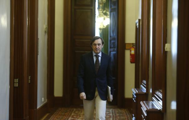 """Hernando insiste en que el PP """"hizo lo adecuado"""" cuando decidió apartar a Ignacio González de la candidutura"""