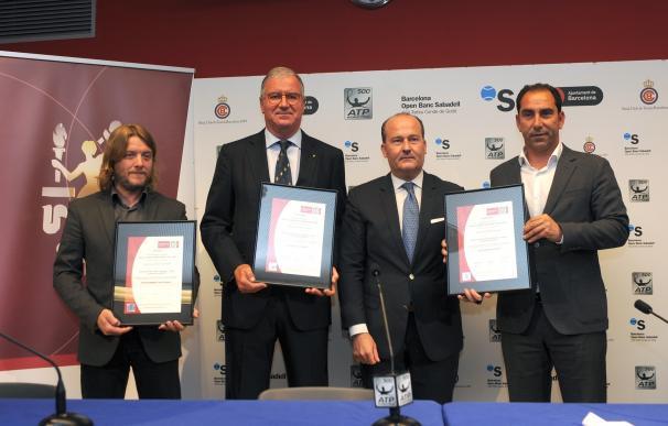 El Barcelona Open Banc Sabadell, primer Evento Sostenible certificado por Bureau Veritas