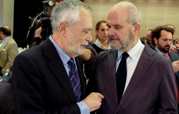 La Audiencia cierra la pieza 'política' de los ERE con 22 acusados, entre ellos Chaves y Griñán