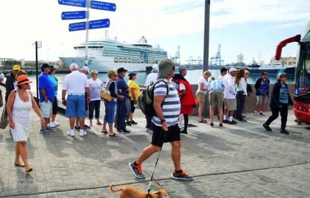 Unos tres cruceros cierran este sábado la temporada alta en Las Palmas de Gran Canaria