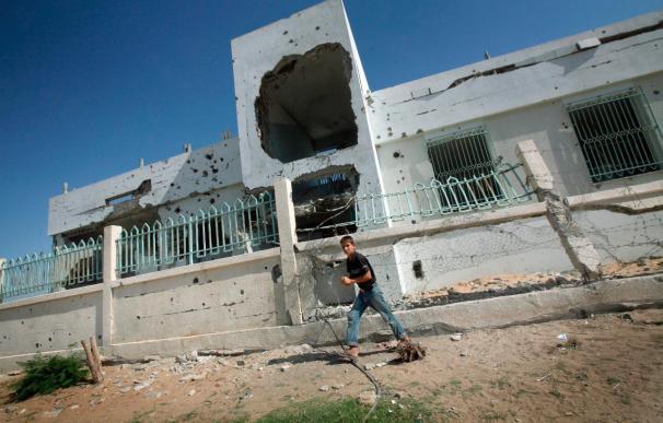 Tres milicianos palestinos mueren en un ataque israelí en la franja de Gaza
