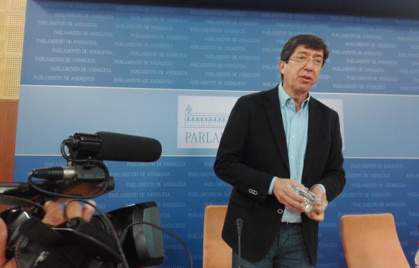 """Marín critica que Podemos pida mociones de censura en Madrid y a la vez """"indulte"""" a Chaves y Griñán en Andalucía"""