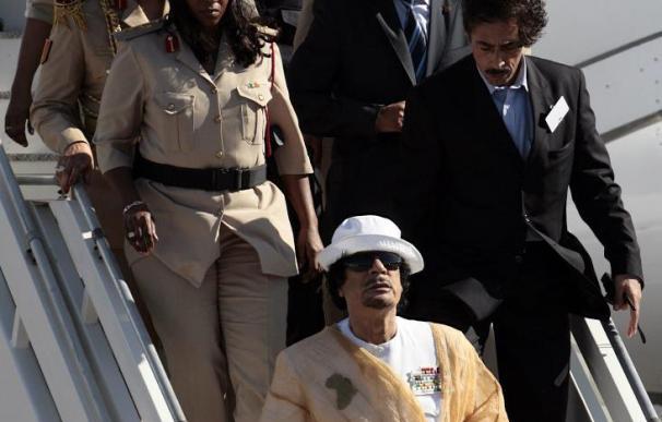 Gadafi llega a la Isla de Margarita para asistir a la II Cumbre de la ASA