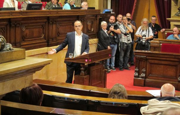 Turull (JxSí) afirma que los funcionarios catalanes cumplirán la ley vigente en cada momento