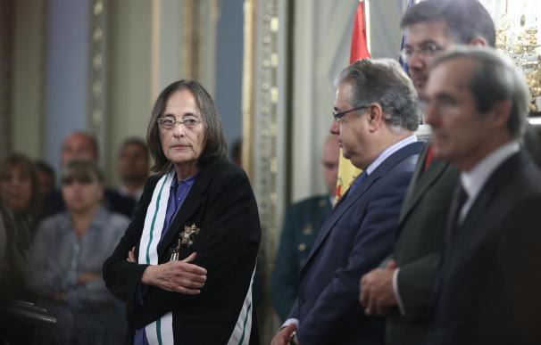 """La juez Le Vert, """"incansable heroína frente a ETA"""", homenajea en Madrid a víctimas y fuerzas de seguridad"""