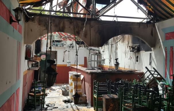 """El SAB señala que junto a la caseta incendiada debería haber """"un retén"""" inexistente por """"recortes"""""""