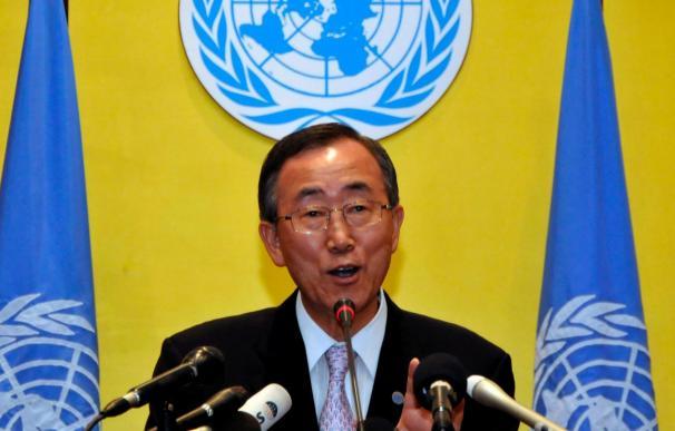 Ban destaca los avances en el cambio climático y el desarme en la Asamblea de la ONU