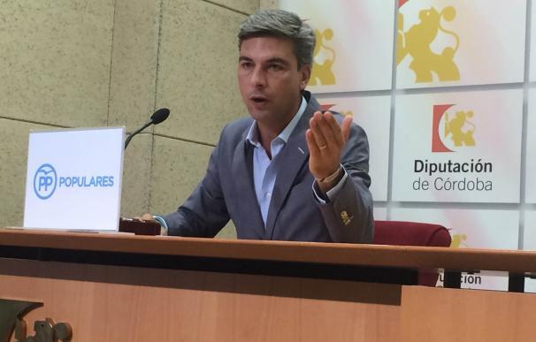 El PP reitera sus críticas a la Diputación a cuenta de la subvención a Guadalquivir Futuro